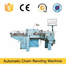 Curvadora automática de la cadena del enlace del hierro para la producción de la cadena del hierro
