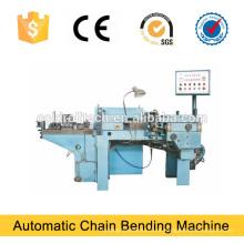 Máquina de dobra automática da corrente de relação do ferro para a produção da corrente do ferro