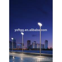Solar street garden light poles