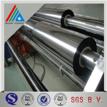 Película metálica metalizada aluminizada de metalizado Película metalizada metalizada
