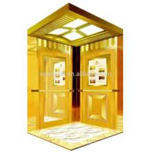 Venta caliente 2015 construcción de ascensores de pasajeros nuevos productos