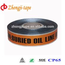 orange underground detectable warning tape