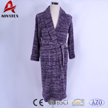best selling good quality factory price spa soft waterfall print coral feece bathrobe