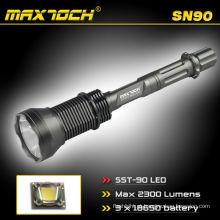 Maxtoch SN90 SST-90 LED de alta potência estilo forte lanterna luz