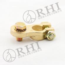Conector de batería de latón de alta calidad, terminal de batería de crimpado resistente