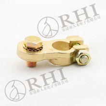 High quality brass battery connector, heavy duty crimp battery terminal