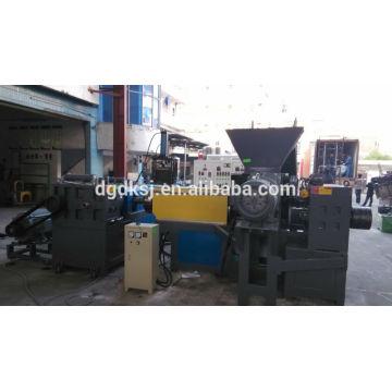 PE pp film trois étape haute capacité 12-15 tonnes/jour recyclage plastique machine de granulateur