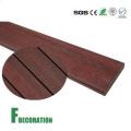 Suelo de madera al aire libre impermeable reciclado del Decking WPC del plástico compuesto