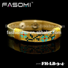 Guangzhou Fashionme handmade braided leather wrap bracelet
