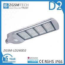 Farola LED de 240W con controladores Inventronics