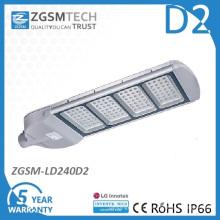 240W светодиодный уличный фонарь с Inventronics драйвера
