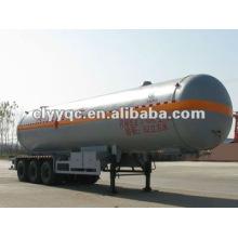 3 axle 55m3 lpg semi trailer tanker zu verkaufen