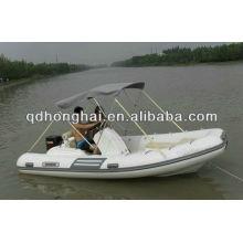 Barco de luxo inflável 470 RIB para pesca