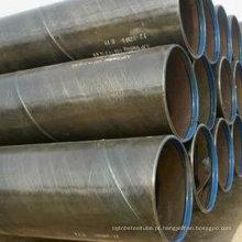 Ssaw tubo de aço / SSAW fixar comprimento tubo / ms tubo