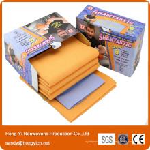 Nonwoven Fabric Cloth, Viskose und Polyester Fabric Nonwoven Putztuch