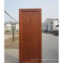 Puerta interior con un núcleo