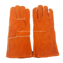 Welding Gloves Lined Leather Gloves Grilling Gloves