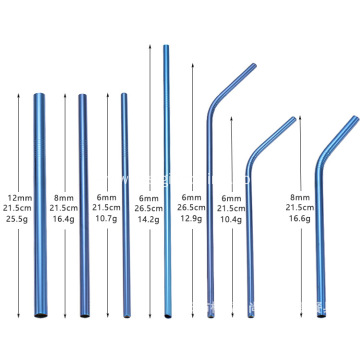 Custom Stainless Steel Drinking Straw