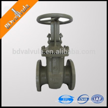 GOST hierro fundido simple disco manual de la válvula de compuerta