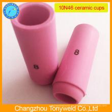 10N46 boquilla cerámica para la antorcha tig