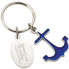 Porte-clés en métal personnalisé pour cadeau promotionnel (KD-001)