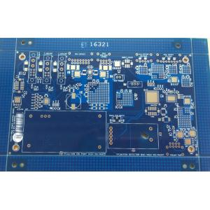 2 layer blue solder power control board
