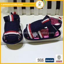 2015 bon marché en gros haute qualité mélangé couleur toile moins chère chaussures de bébé été