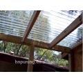 Fabricantes de láminas de policarbonato / invernaderos fuertes / policarbonato
