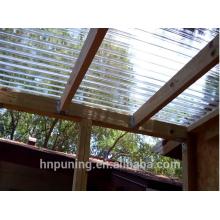 Fabricants de panneaux de polycarbonate / serres solides / toiles creuses en polycarbonate