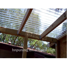 Polycarbonate sheet manufacturers/strong greenhouses/polycarbonate hollow sheet roofing