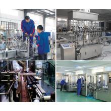 Автоматическая масляная машина для розлива бутылочной жидкости 220 В 50 Гц для фармацевтической промышленности
