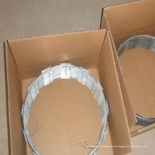 Embalaje de cartón Cbt-65 Concertina Razor Blade Wire Fencing