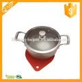 Alimentos de grado más vendido de silicona Mat Dot Pot Stand