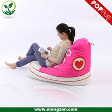 Chaussure en beanbag à la mode, design créatif sac de haricots moderne