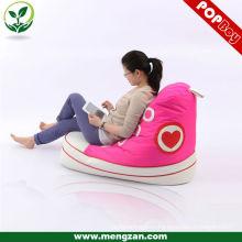 Fashionable beanbag shoe, creative design modern bean bag