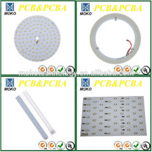 SMD Rigid LED Round Pcb Board Pcba Assembly