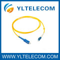 Customized SM Duplex Fibre Optical SC / LC Patch Cord 2.0mm LSZH