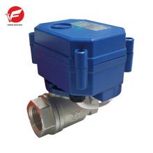 Commande directionnelle de valve hydraulique électrique d'acier inoxydable