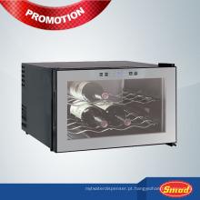 Estantes duplas termoelétricas refrigerador de vinho
