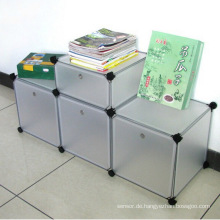 3 Farben zur Verfügung DIY Kunststoff-Aufbewahrungsschränke (ZH0012)