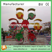 Beautiful fun park rides kids Indoor Mini Ferris Wheel For Sale