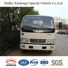 6cbm Dongfeng Hook Arm Lifting Euro 4 Garbage Container Tank Truck