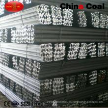 Q235 carril de acero del material 12kg con precio competitivo