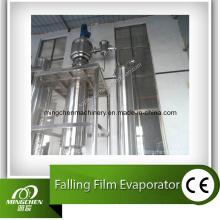 Suco de um único efeito que cai Evaporador de filme