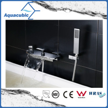 Waterfall Bath Wall Mount Shower Mixer Faucet