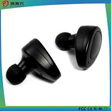 Gêmeos fone de ouvido estéreo sem fio Bluetooth com 2 gomos e pênis de carga