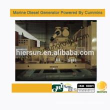Powered by Cummins 800KW/1000KVA Marine diesel generator
