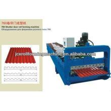 Máquina de rolamento da porta do obturador JCX 760 com bom preço