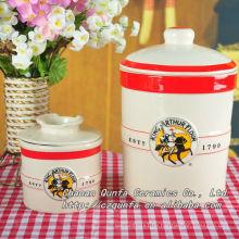Roundstorage Flaschenbehälter für Kaffeezucker Tee