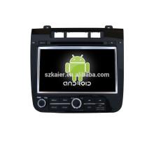 Reproductor de DVD del coche de 7 pulgadas GPS para VW touareg con gps del coche mirror-link